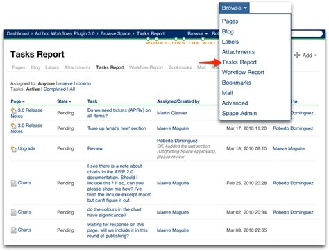 workflow report workflow reporting ad hoc workflows 3 3 comalatech
