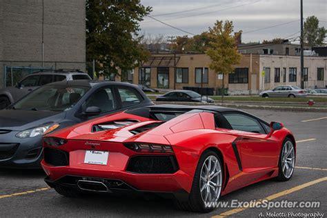 Lamborghini Aventador Price Canada Lamborghini Aventador Spotted In Montreal Canada On 10 20