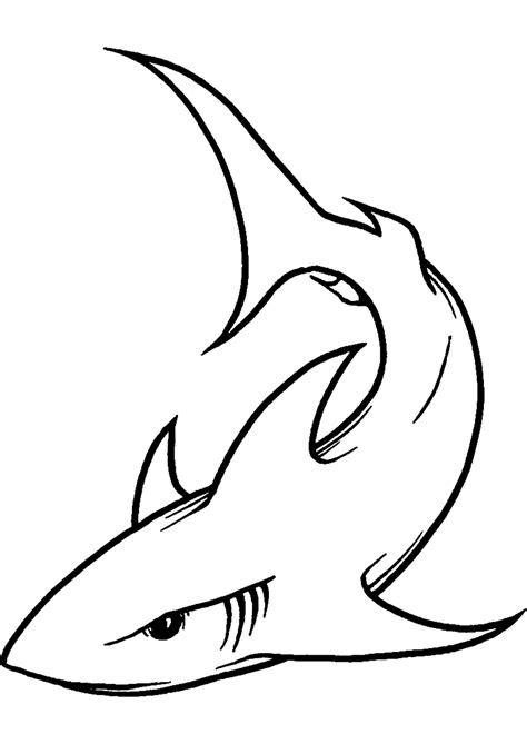 imagenes para colorear tiburon dibujos de tiburones para pintar dibujos de tiburones