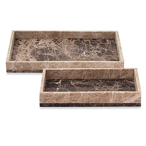 marble bathroom tray montecito marble tray bed bath beyond