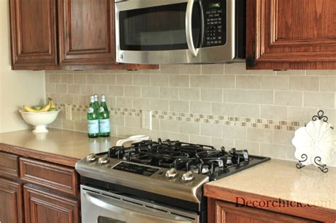 Tile Borders For Kitchen Backsplash by Subway Tile Backsplash Decorchick