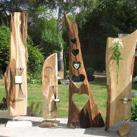 Holz Deko Im Garten by Holzdeko Im Garten M 246 Belideen