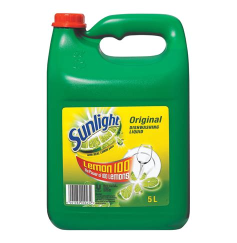Jual Sunlight by Sunlight Dishwashing Liquid 1 X 5l Lowest Prices