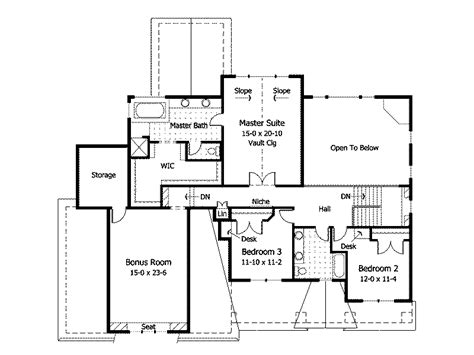 craftsman style house plans with open floor plan cottage