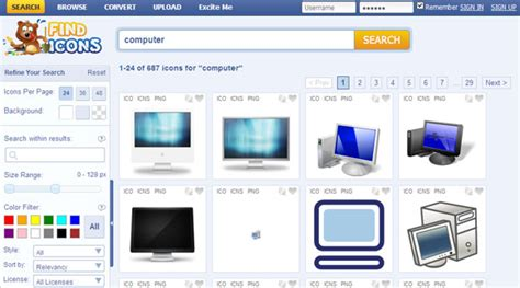 Best Search Engines To Find Free 8 Icon Search Engines For That Graphic Symbol