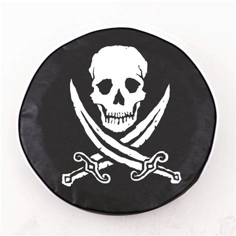 jolly roger jeep tire cover jolly roger black spare tire cover by hbs covers