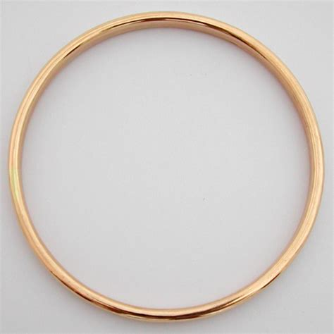 Achat vente de bijoux anciens et d'occasion   Bracelet jonc en or 90