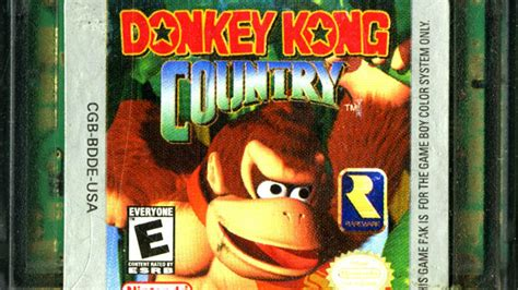 kong country gameboy color cgr undertow kong country review for boy