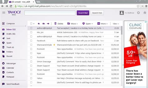 useful hotkeys that work with yahoo mail tip reviews