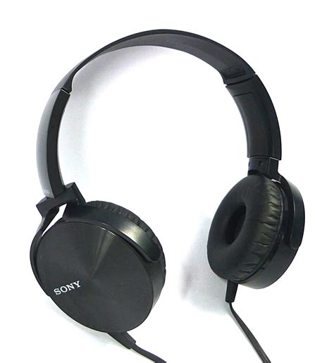 Murah Headphone Sony Mdr Xb 450 Xb450 Xb 450 Bass 1 sony mdr xb450 bass stereo on ear headphones black ebay
