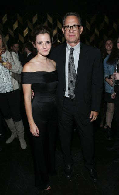 film emma watson tom hanks celebrities in new york city pictures newsday