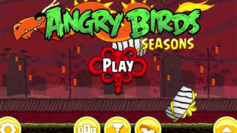 angry birds seasons new year theme angry birds seasons the year of free