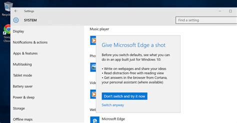 edge microsoft windows 10 browser microsoft doesn t want windows 10 users to switch to
