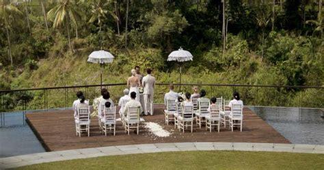 Lu Hid Di Bali 4 tempat menikah di ubud bali paling keren unik mewah