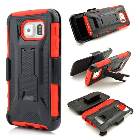 High Impact Armor Cover Casing Belt Holster Samsung Galaxy A3 2 in 1 shockproof cover for samsung galaxy s6 high