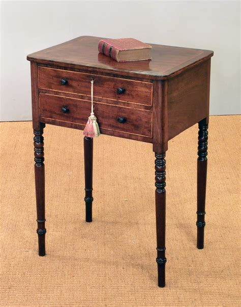 regency mahogany work table antique work table antique