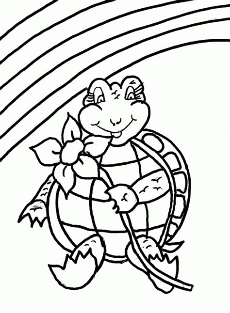 coloring pages stress free stress free kids turtle coloring page coloring com