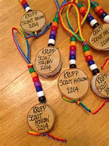what to do with the beads cub scouts earn at day c