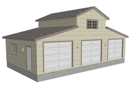 what is the size of a single car garage