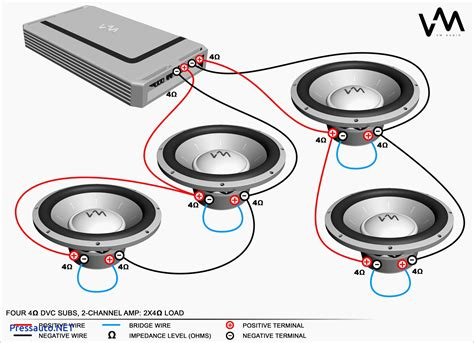2 ohm dual voice coil subs wiring diagram ohm 2x12 speaker