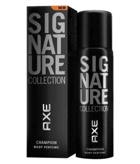 Parfum Axe Signature axe signature chion perfume 122 ml buy at best prices in india snapdeal