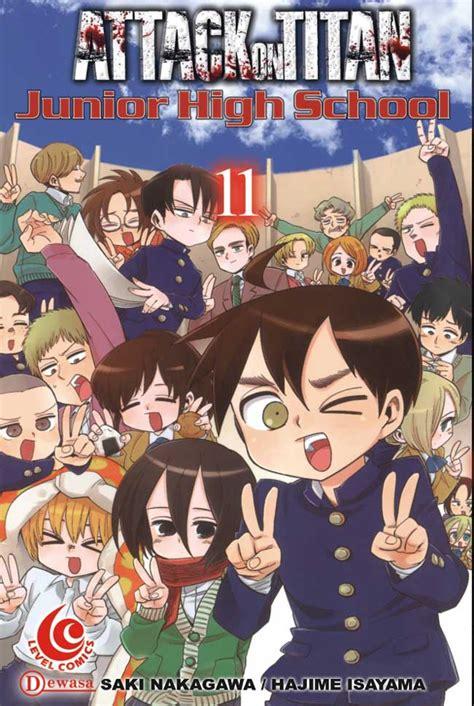 lc attack on titan junior high school 11 bukubukularis toko buku belanja buku