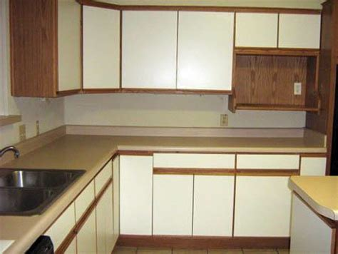 how to refinish laminate cabinets reface melamine cabinets bar cabinet