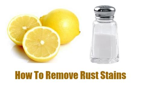 tip how to remove rust stains southern savers