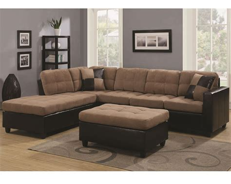 coaster reversible sectional sofa mallory co 5056set lss