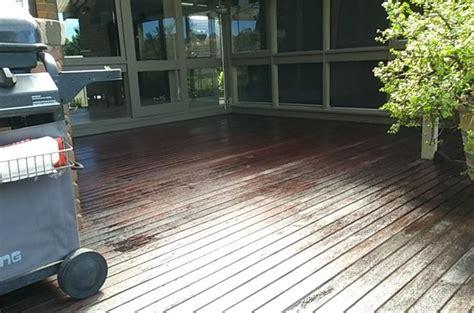 merbau deck rejuvenation  north west melbourne stain