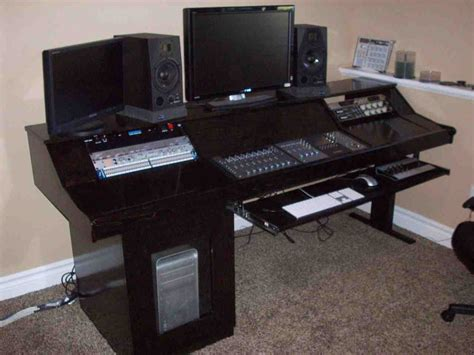 studio computer desk recording studio computer desk home furniture design