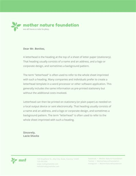 charity letterhead design design and print letterheads on canva