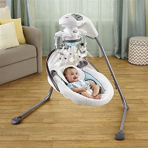 fisher and price my little lamb cradle and swing my little lamb platinum ii cradle n swing dealtrend