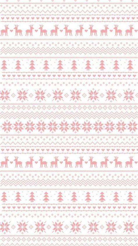 susan reindeer pattern christmas jumper pastel pink white snowflakes reindeer jumper sweater