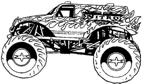 coloring pages monster trucks monster trucks coloring pages only coloring pages