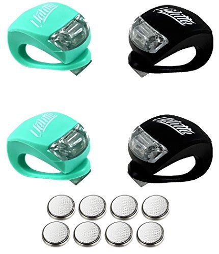 Bicycle Led Set Of 2 Light bicycle light set of 4 bright led bicycle silicone