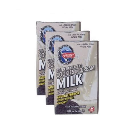 Shelf Stable Milk Boxes by Shelf Stable Reduced 2 Cookies And Flavored