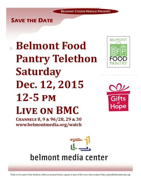 Belmont Food Pantry by Spread The Word About Gifts Of And Shop Belmont