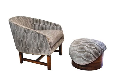 modern reading chair mid century modern reading chair and ottoman with walnut