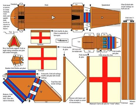 How To Make Ship Models In Paper - how to recreate models of christopher columbus s sailing