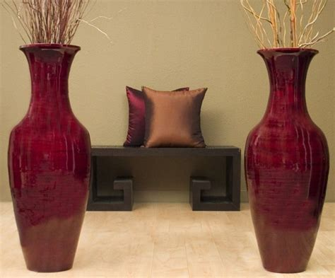 36 Inch Vase by 36 Inch Bamboo Floor Vase