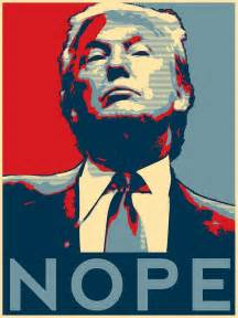 Vintage Style Duvet Covers Quot Donald Trump Quot Nope Quot Quot Posters By Galaxytees Redbubble