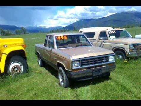 how it works cars 1988 ford ranger head up display 1986 ford ranger tan 4x4 for sale 995 needs work youtube
