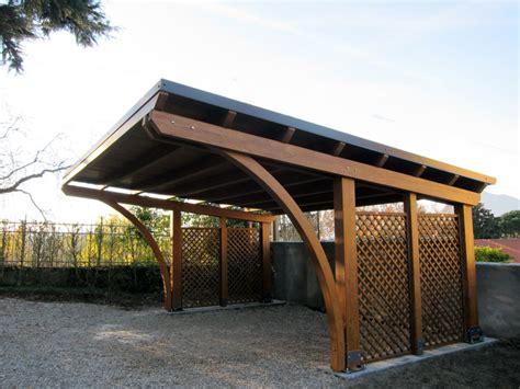 tettoie auto legno foto tettoia per auto r02210