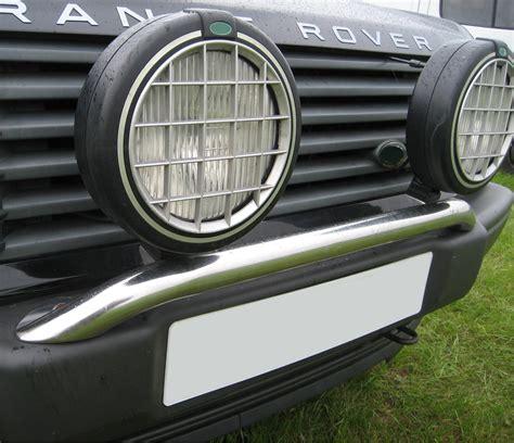 range rover light safari lights wired to low beam