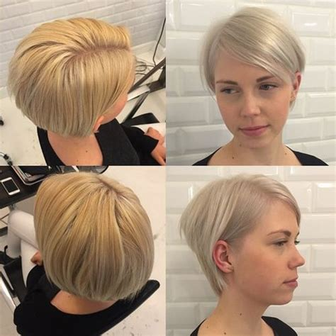 stacked pixie haircut search results for video on very short stacked pixie cut