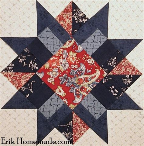 Boston Quilt by Boston Block By Erik Quilting Pattern