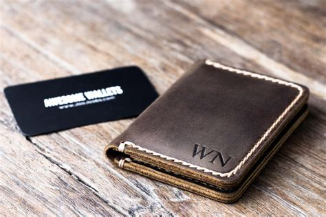 %name business card case womens   Genuine Leather Large Credit Card Holder Case Checkbook Men Womens 20 Card Slots   eBay