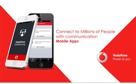 contact vodafone mobile vodafone casestudy mobile app for free conference call