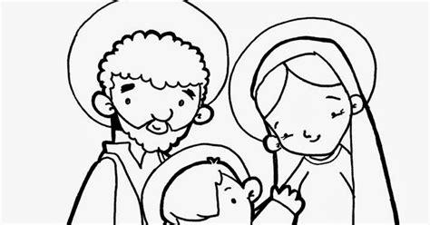imagenes en blanco y negro de la sagrada familia dibujo para colorear escena del belen navideo dibujos para